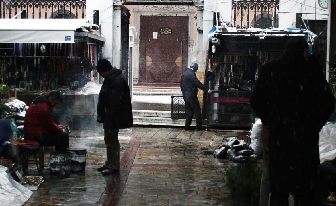 İzmire Kar Yağar 198-2